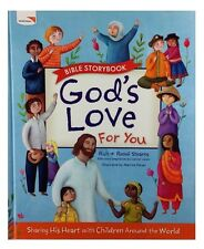 Tommy Nelson Bible Storybook God's Love For You, Hardcover, World Vision