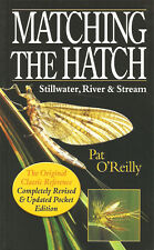 O'REILLY PAT FISHING & FLYTYING BOOK MATCHING THE HATCH TROUT FLIES paperbck NEW