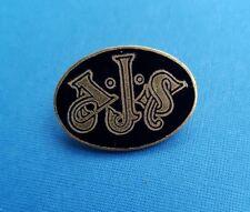 AJS - Anstecknadel - Emaille - schwarz