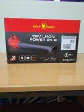Wolf Garten Laubbläser 72V li-ion Power 24 B ohne Akku ohne Ladegerät
