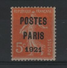 "FRANCE STAMP TIMBRE PREOBLITERE N° 27 "" SEMEUSE 5c PARIS 1921 "" NEUF xx TB R779"