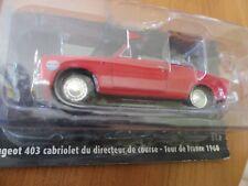 Peugeot 403 cabriolet Directeur de course Tour de France 1960 TdF 1/43