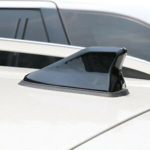 Car Shark Fin Antenna Waterproof Stronger Signal Piano Paint For Nissan Qashqai