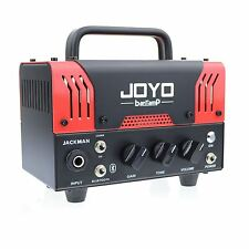 JOYO Jackman Bantamp Guitar Amplifier head 20w Tube 2 Channel Bluetooth New !