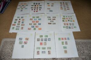 Collection of old BRITISH COMMONWEALTH stamps lot 1