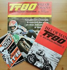 ISLE OF MAN TT 1980 Programme with RACE GUIDE