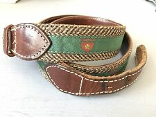 Rugby Ralph Lauren Vintage Shield Print Belt Size M