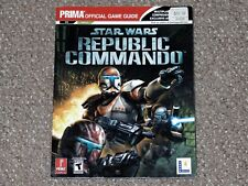 Star Wars: Republic Commando Prima Strategy Guide for Xbox