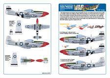 """KITS-WORLD DECALS 1/32 P-51D Mustang - """"fiesty SUE"""" -"""" Lil aggie """"Nº 32121"""