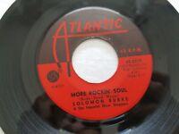 SOLOMON BURKE - More Rockin' Soul / The Price 1964 ATLANTIC FUNK SOUL R&B VG++