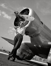 Jacqueline Cochran & Northrop Gamma Race Plane - 1939 - Photo Poster