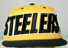 Pittsburgh Steelers Vintage Snapback Hat Cap NFL Mitchell & Ness Ships Boxed