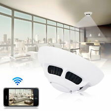Wireless Spy Smoke Detector Camera Digital Video Nanny Cam Motion DVR For Iphone
