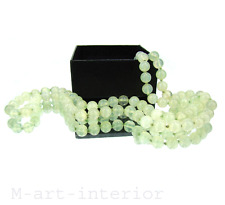 Alte China Jade Kette 339ct Eis-Grün Pixiu Jadeite Ice Green Necklace vintage #1