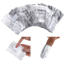 100Pcs Remover Pads Soak Off Aluminium Foil Cleaning Wrap Nail Art Gel Polish