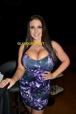 "ANGELA WHITE 8x12"" Original PHOTO 343-  BUSTY BABE"