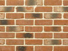 (47,01 €/m²) Rustikale Feldbrand-Klinker-Riemchen WDF-Verblender Fassade