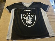 Jersey Youth Size Large Raiders Reversible  NFL