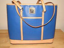 Dooney & Bourke Blue Cynthia Tote Bag NEW Handbag Large Leather Shoulder Shopper