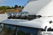 Roof Bar BLACK + Clamps + LED Spots Lamps + LEDs For Iveco Eurocargo Stainless