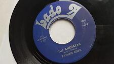 """RAMIRO LEIJA - Tus Amenazas / Carolina RARE 1974 LATIN CUMBIA 7"""" Lado A Records"""