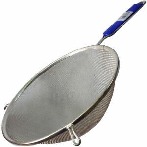 "Extra Large Fine Mesh Sieve with handle, 9""/23cm diameter kitchen seive strainer"