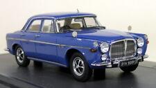 Matrix 1/43 Scale - Rover 3.5 Litre P5b Saloon 1972 Blue Resin Model Car