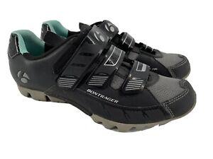 Bontrager Womens Sz 9.5 Evoke Mountain Biking Shoes EUR 41 Black EVO MTB WSD