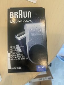 Braun M90 Mobile Shaver - Silver NEW