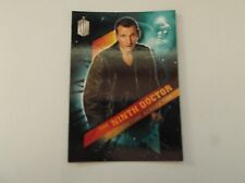 "Topps Dr Who - Timeless ""THE NINTH DOCTOR"" #9/13 Christopher Eccleston Card"