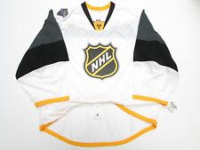 2016 NHL ALL STAR GAME AUTHENTIC WHITE REEBOK EDGE 2.0 7287 JERSEY GOALIE CUT 58