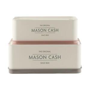 Mason Cash Innovative Kitchen Set of 2 - Rectangular Tins