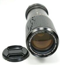 Minolta MC Zoom Celtic 100-200mm f5.6 Manuel Focus Lens
