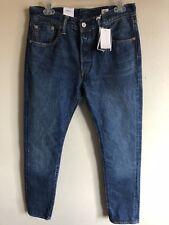 New Levis's 501 S SKINNY Selvedge Denim  Medium Wash Jeans Size 30x30 $128
