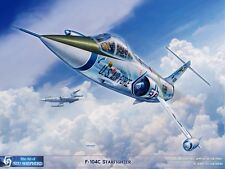 ART PRINT: F-104 Starfighter - Print by Shepherd