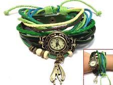 Hatsune Miku Cosplay Logo Accessory Pu Leather bracelet Wrist Watch Women Girl