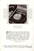 Advertising The Howard Pocket Watch The Keystone Watch Case Co. NJ 1926