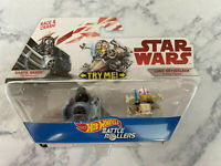 Star Wars Hot Wheels Battle Rollers Darth Vader Tie Advnce Luke Skywalker X-Wing