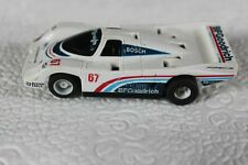 TYCO PORSCHE 962 #67  WHITE/BLUE/RED BF GOODRICH WITH HP7 CHASSIS HO SLOT CAR