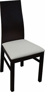 Luxury Design Pads Chair Chairs Seat Lehn Office Dining Room Wood K54 New