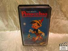 Walt Disney's Pinocchio VHS Large Case Original Classic Cover