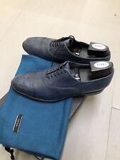 Paul Smith Mens  Shoe Burton Blue UK8 New With Box .