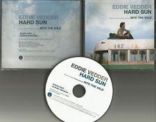 Pearl Jam EDDIE VEDDER Hard Sun w/ RARE RADIO EDIT PROMO DJ CD Single 2007 USA
