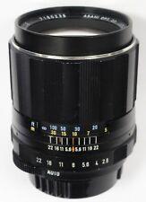 Pentax 105mm f/2.8 Takumar SMC Manual Focus M42 Screw Lens Spotmatic SP1000 etc