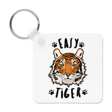 Easy Tiger Keyring Key Chain - Funny Animal