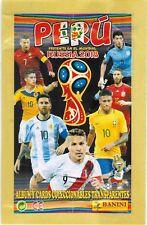 Peru 2017 al Mundial Russia 2018 Soccer sticker pack - Messi Ronaldo Naymar