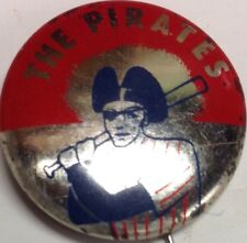 1965 Vintage Pittsburgh Pirates Baseball 3/4 Inch Pin Pinback Crane