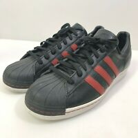 """RARE"" Adidas Leather Texas A&M Sneakers Black/Maroon B91258 Men's 13 Medium"