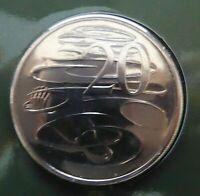 2004 Australian Twenty cent 20c coin - PLATYPUS - UNC ex mint set