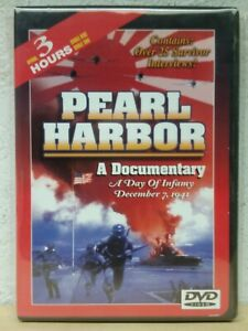 Pearl Harbor: Day of Infamy DVD War Documentary - 3 HOURS - 25 INTERVIEWS RARE